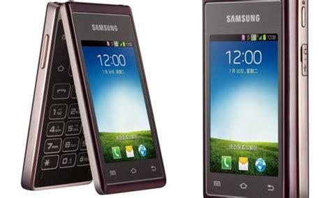 Harga Samsung W789 samsung hennessy android clamshell dengan dual lcd dan