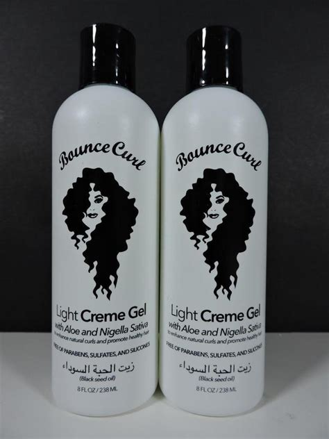 light gel for curly hair 2x bounce curl light creme gel with aloe for curly hair