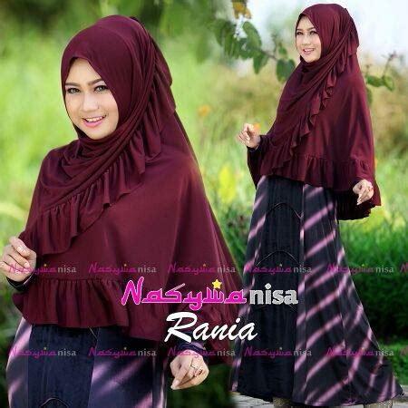 Dress Bludru Import Allsize rania maroon baju muslim gamis modern