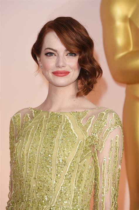 emma stone oscar emma stone s oscars dress 2015 red carpet photos