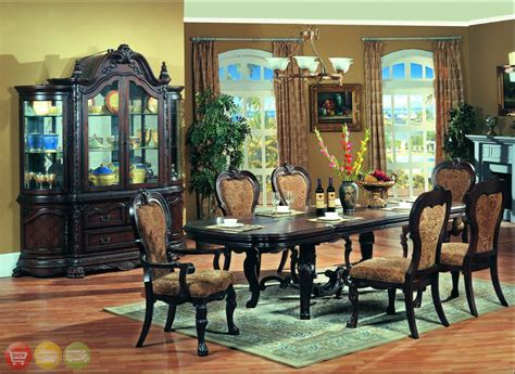 formal dining room sets with china cabinet 93 black dining room set with china cabinet dining
