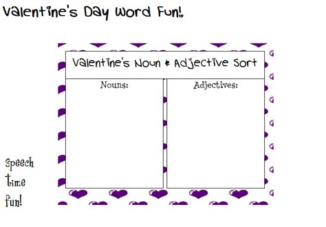section synonym valentine s day word fun