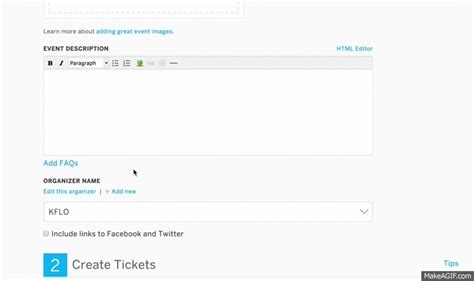 design editor responsibilities how to set up an online only event eventbrite help centre