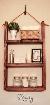 regal badezimmer how to make a hanging bathroom shelf for only 10