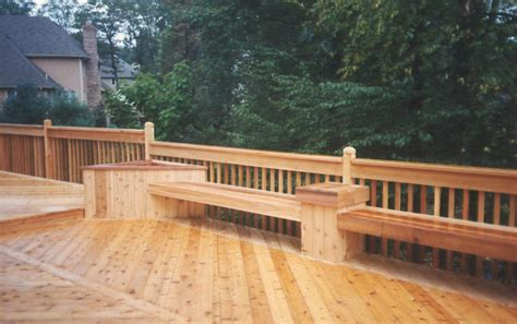 Deck Planter Bench by Pdf Cedar Deck Bench Planter Plans Free