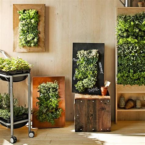 Planters For Walls by Chalkboard Wall Planters For Vertical Garden Designs
