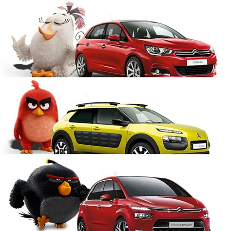 Angry Birds Auto by Angry Birds Are Angry With Citroen Torque