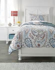 orange twin bedding danniell aqua and orange twin comforter set from ashley