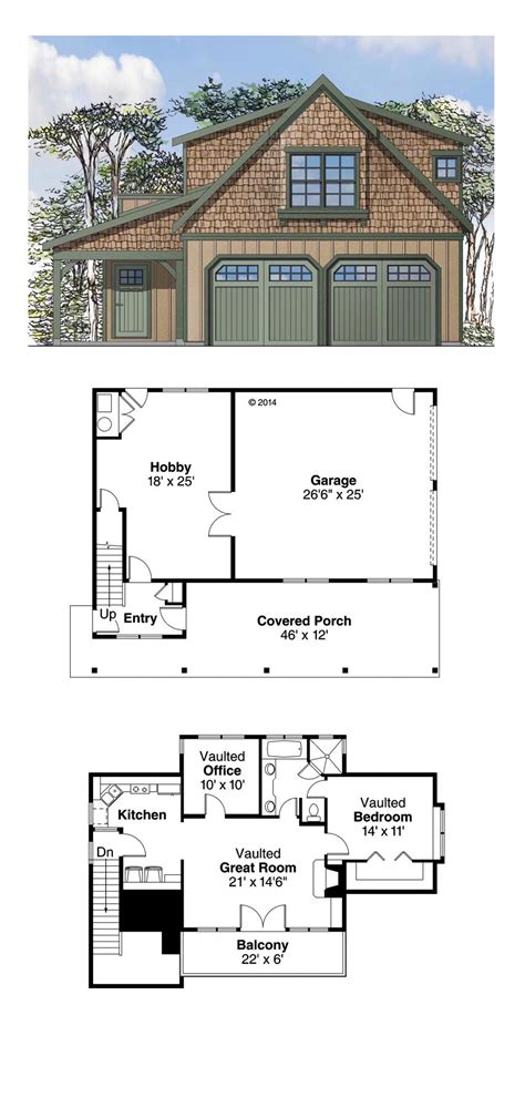 Garage Apartment Plans by Garage Apartment Plan 41153 Total Living Area 946 Sq