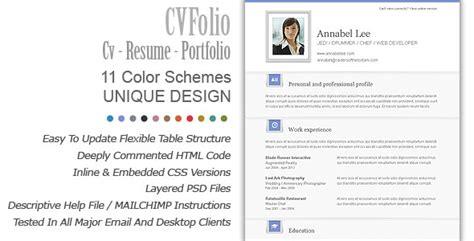 resume folio resume ideas