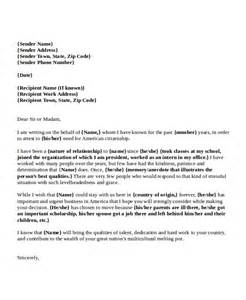 6 immigration reference letter templates free sample