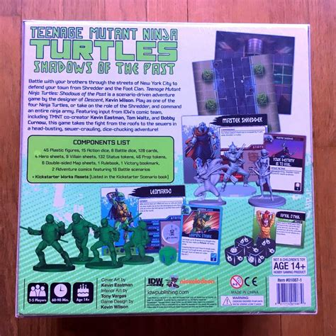 Tmnt Shadow Of The Past Boardgame 457 best images about kaptainmyke s mutant