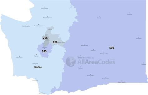 us area code map 206 206 area code 206 map time zone and phone lookup