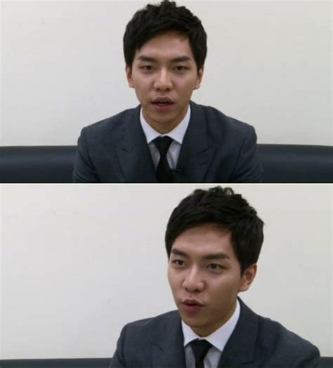 lee seung gi ideal girl lee seung gi reveals his ideal type as simple girl drama