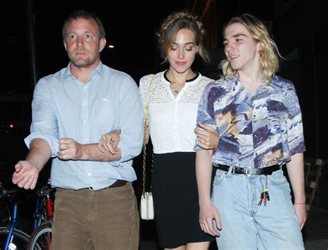 whos the new guy on gma guy ritchie at chiltern firehouse with son rocco and wife