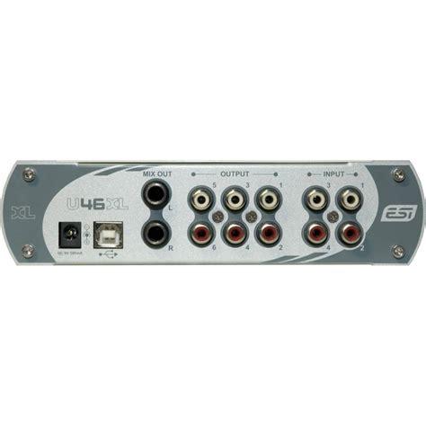 Usb Audio Interface esi u46 xl usb audio interface usb interfaces from inta
