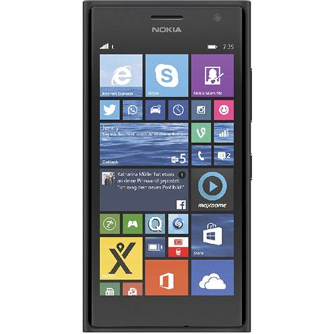 Nokia Lumia Verizon nokia lumia 735 bluetooth 4g lte gray windows 8