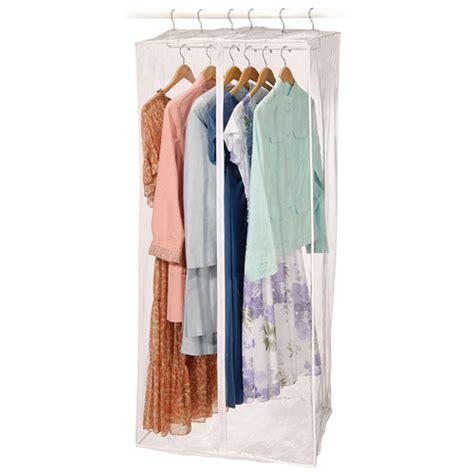 Hanging Closet Garment Bags by Jumbo Vinyl Dress Bag In Garment Bags