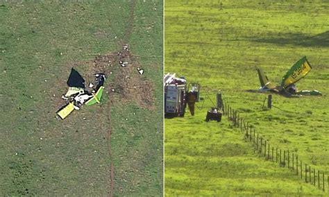 pilot dies  ultralight plane crash  sydney daily