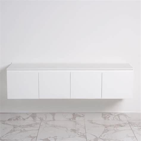 amari vanity unit white matt unit cubo