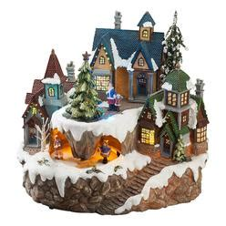 where to buy christmas village houses animated light up christmas village scene traditional village houses with ice
