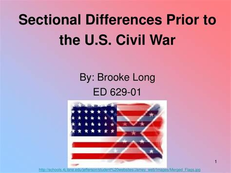 sectional differences ppt sectional differences prior to the u s civil war by