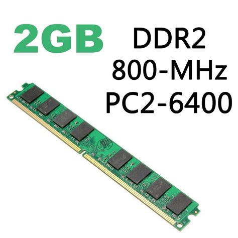 Ram V Ddr2 Pc6400 2gb 2gb memory ram ddr2 pc6400 pc2 5300 u 667 800mhz 200 240pin desktop pc memory as ebay