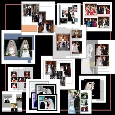 ps wedding album templates digital wedding templates