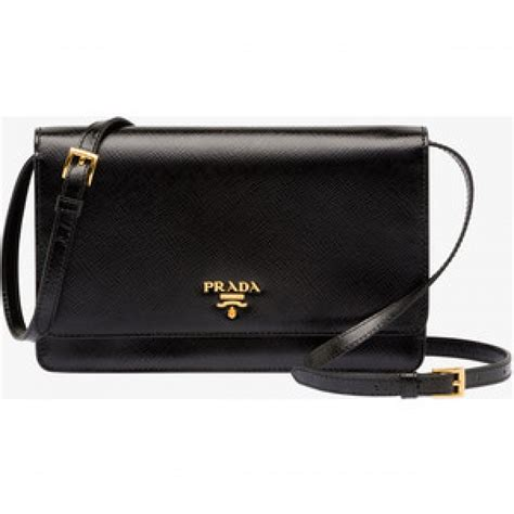 Prada Purse by 700 Prada Saffiano Black Leather Wallet On