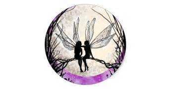 Flower Fairy Wall Stickers twilight fairy art stickers fairy silhouettes classic