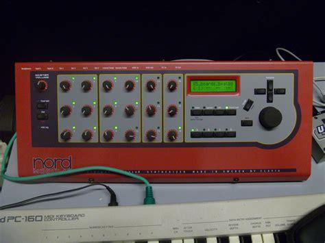 clavia nord modular rack image 501637 audiofanzine