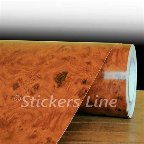 pellicole per interni auto pellicola adesiva effetto radica 25x130 adesivo interni