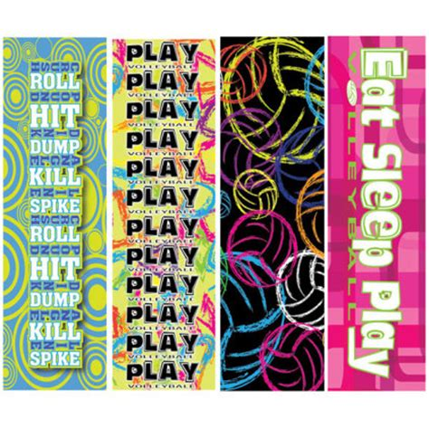 printable volleyball bookmarks 5 8 99 volleyball print headbands