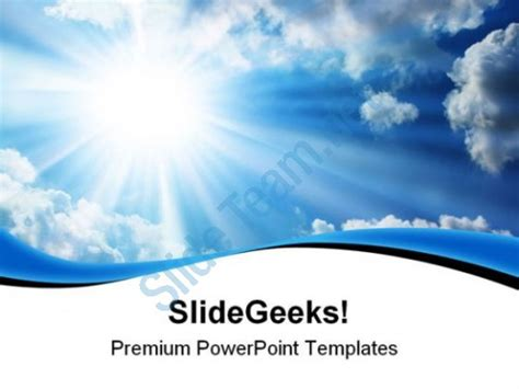 blue sky social media templates download free templates blue sky nature powerpoint templates and powerpoint