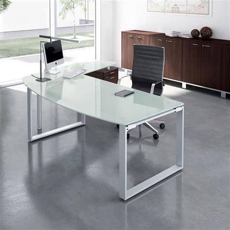 scrivanie vetro ufficio x time work 04 scrivania da ufficio con penisola e