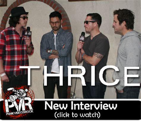 thrice interview punkvideosrock new thrice interview from musink 2011