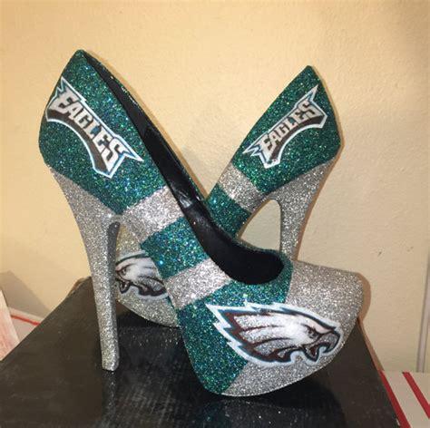Wedding Shoes Philadelphia by S Handmade Football Philadelphia Eagles By