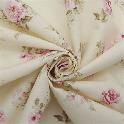 floral chintz upholstery fabric vintage chintz floral print retro shabby 100 cotton