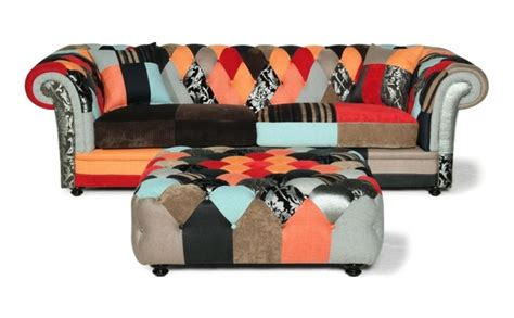 Chesterfield Sofa Patchwork - patchwork chesterfield sofa uk brand new scroll