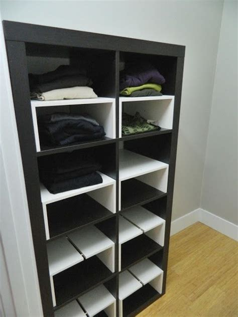 ikea kallax shoe storage ikea hack expedit inserts for the closet things i like