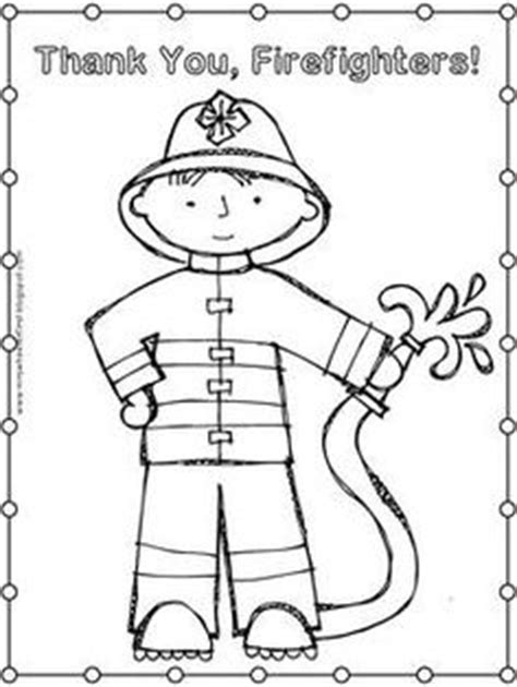 Thank You Fireman Coloring Pages by 1000 Images About Safety Week On