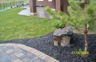 rock lake calgary estate home landscaping