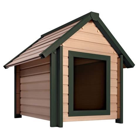 xl dog house newagepet eco concepts bunkhouse dog house xl the home depot canada