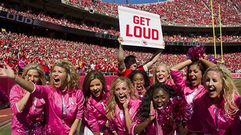 loud fans for kansas city chiefs fans are the loudest in the