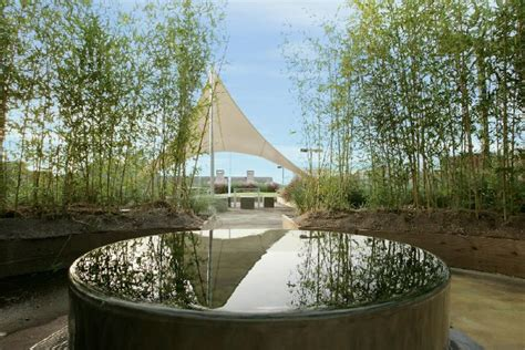 building a zen garden intexure architects transform parking garage into a