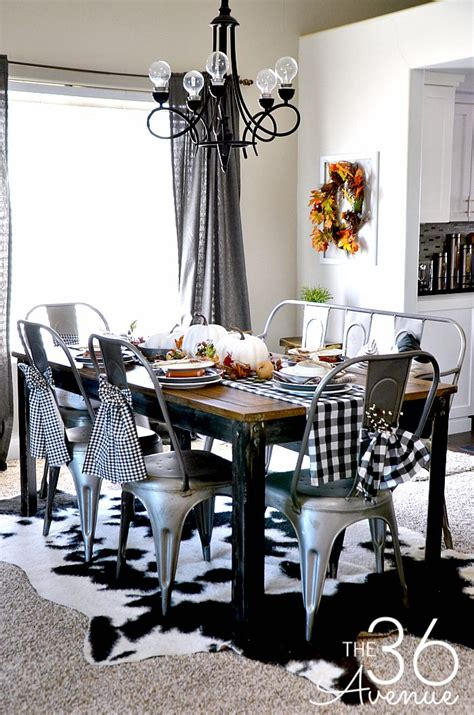 Fall At Room by Fall Decor Dining Room The 36th Avenue