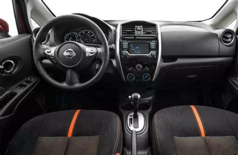 nissan versa 2020 interior 2020 nissan versa note hatchback release date and price