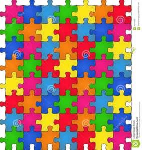 rainbow puzzle seamless rainbow puzzle stock photos image 26243953