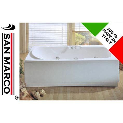 vasca 170x70 vasca idromassaggio rettangolare 170x70 cm san marco
