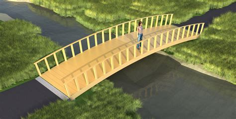 how to build a wooden bridge how to build a wooden bridge plans diy free download